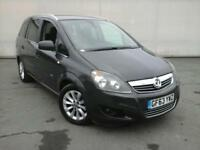 2013 63 Vauxhall Zafira 1.6i GOOD & BAD CREDIT CAR FINANCE AVAILABLE