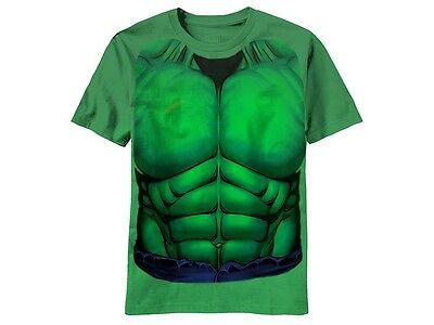 Der Hulk Smash Kostüm Super Hero Bruce Banner Kelly Grün Marvel T-Shirt S-2XL ()