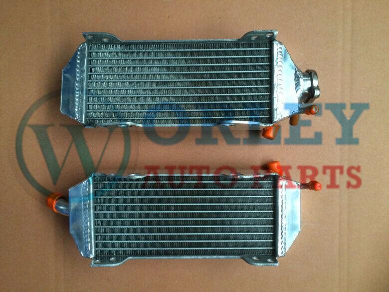 Aluminum Radiator for Suzuki RM250 RM 250 2-stroke 1996-2000 1997 1998 1999 00