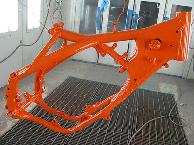 Ktm Orange Powder Coat Powder Coating Paint - New 5 Lbs Free Shipping