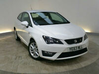 63 SEAT IBIZA 1.6TDI ( 105ps ) CR SPORT COUPE FR //£30 ROAD TAX //