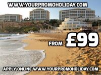 Cheap Holidays in Europe and Asia from £99 per couple for 7 nights, 4 or 5 star accommodation