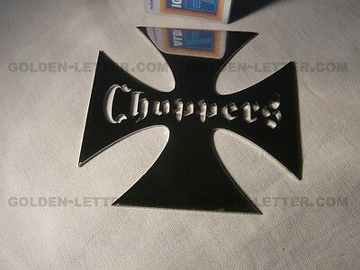 (Iron Cross choppers, Metal, new, guaranteed to last a lifetime #ch0)