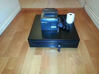 Square Stand Bundle: Star TSP143U USB Receipt Printer & Cash Drawer Combo