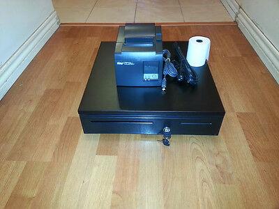 Square Stand Bundle: Star TSP143U USB Receipt Printer & Cash Drawer Combo