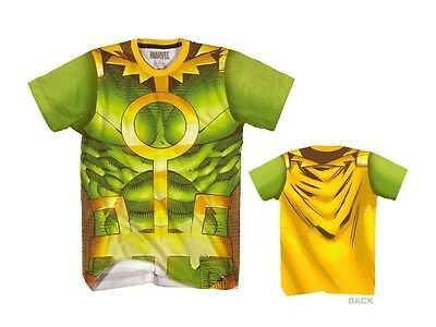 Original Loki Bösewicht Marvel Comics Thor Sublimation Kostüm T-Shirt Hemd S-2XL