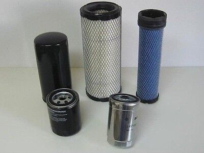 Mahindra Tractor Economy Pack Of 5 Filters -0455.0456.6648.3247.0316