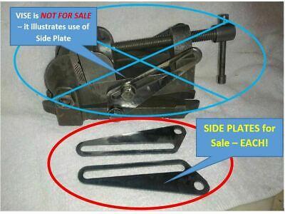 Palmgren 2.5 Tilt Angle Vise Side Plates - Each - Repro - 18 Steel