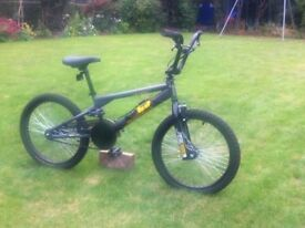 DiamondBack Grey BMX bike, FuelRods