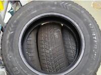 205 65 15 evergreen winter tyres. Set of 4