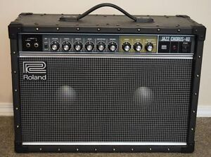 Roland JC40 (the new full stereo version)