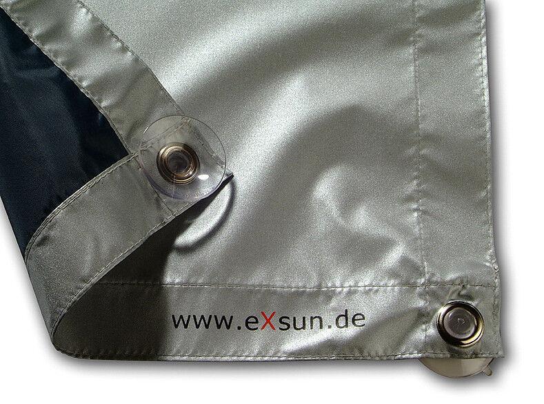 eXsun f Roto Velux Rollo Sonnenschutz ohne bohren DachFenster VerdunkelungsRollo
