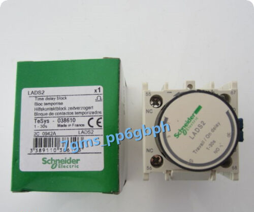 1PCS Schneider LADS2 Contactor Time Delay Auxiliary 1-30s New