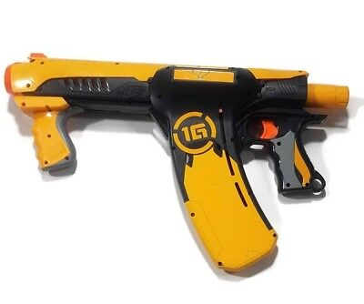 NERF Dart Tag Quick 16 Blaster Gun Only 1G Yellow