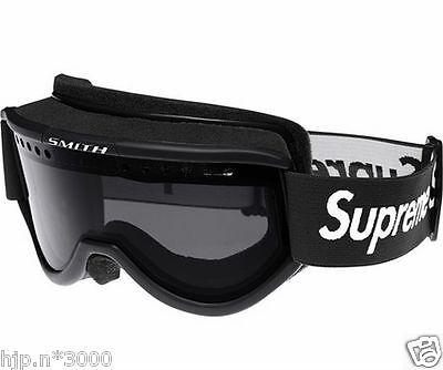 Supreme Smith Collaboration Cariboo OTG Ski Goggle Goggles Black Auth FS trackin