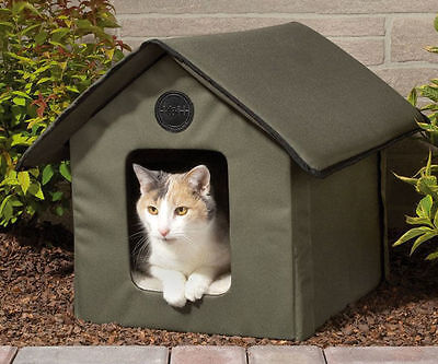 Cat House Open-air Animal Small Dog Pet Waterproof Shelter Warm Bed Portable New