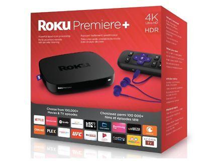 Roku Premiere+ (Plus) + 4K / HDR / Quad-Core / Streaming Media Player
