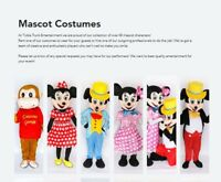 Disney Quality MASCOT Costumes PLUS much, MUCH MORE!