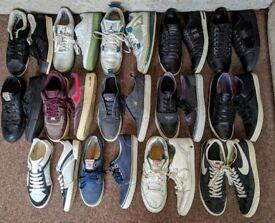 Genuine Men's Shoe/Trainer Bundle - D&G, Armani, Dior, True Religion, Nike, Adidas, Jordan