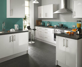 6 Piece Kitchen Units - Gloss - BRAND NEW