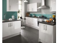 7 Piece Kitchen Units - High Gloss - BRAND NEW