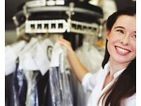 *SHOP ASSISTANT/MANAGER REQUIRED & IRONING STAFF REQUIRED*EXPERIENCE PREFERRED!*WEST LONDON BASED!!*