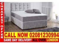 **** Quickest delivery *** Single (double kingsize) dena crush velvet bedding