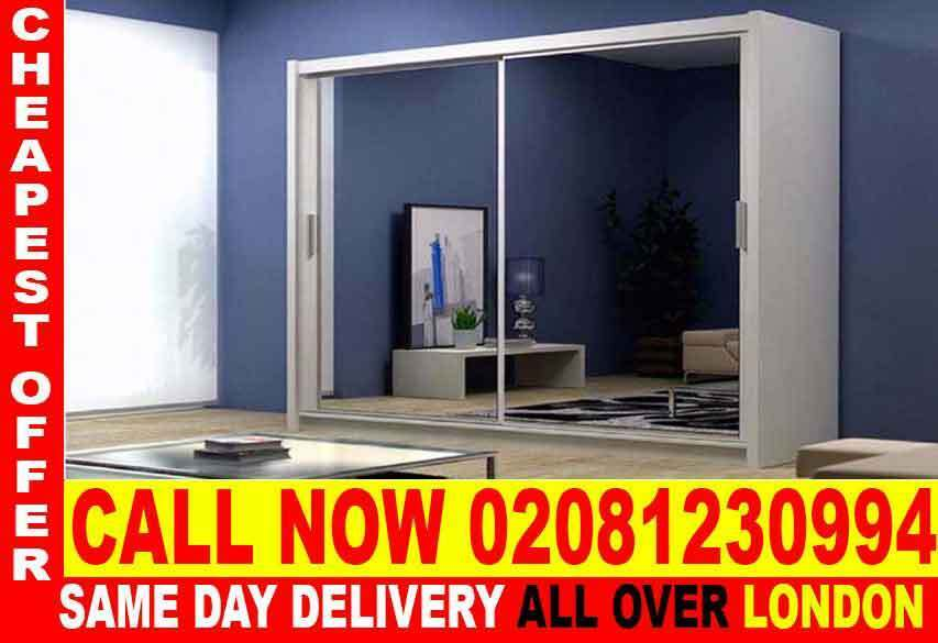 WOW UPTO 70% OFFWHITE SLIDING 2 DOORS BERLIN FULL MIRROR CHEAP PRICE WARDROBEin Earls Court, LondonGumtree - The Berlin Sliding Wardrobe range is not only stunning to look at but functional as well. Its contemporary design will grace any bedroom and as it comes in such a wide variety of sizes and colors, there is a style to suit everyone. The Berlin range...