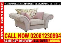 ****Amazing Offer**** Sofa Available in Corner Sofa or 3+2+1 Seater Fabric Sofas