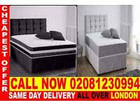 **** Quickest delivery *** Single (double kingsize) dena crush velvet bedding