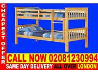 ****Amazing Offer**** WOODEN Bunk Base, That convert into two- /Bedding