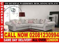 ****WOW UPTO 70% OFF*** Sofa Available in Corner Sofa or 3+2+1 Seater Fabric Sofas