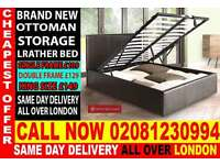 ****Quickest delivery*** DOUBLE storage leather Base ,single Kingsize available / Bedding