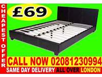 ****WOW UPTO 70% OFF*** SINGLE DOUBLE KING SIZE LEATHER BEDDING