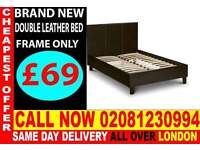 ***CASH ON DELIVERY**** Brand New Single Double And KingSize Leather Bedding