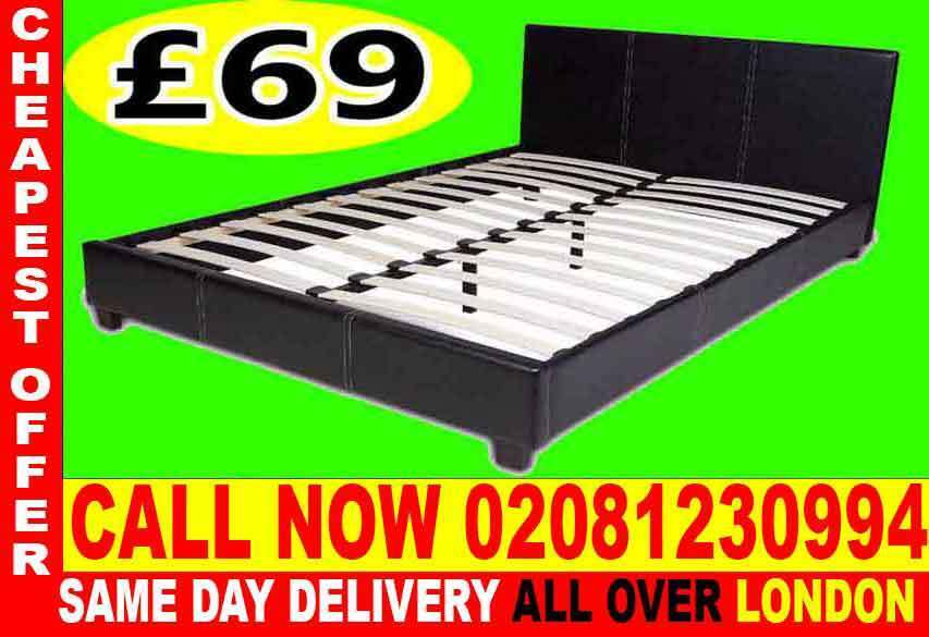 WOW UPTO 70% OFFSINGLE DOUBLE KING SIZE LEATHER BEDDINGin Earls Court, LondonGumtree - Brand New Furniture sale All types of furniture available. Bed, sofa, wardrobe, bunk bed, dining set, coffee tables.Just a call and we will assist you