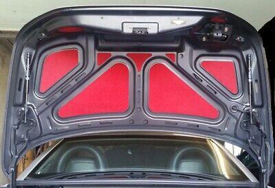 Mercedes   9-Teile  SLK R 170  Kofferraum Deckel Heckklappe Einlagen Verkleidung