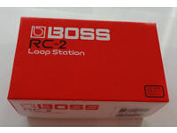 BOSS RC-2 Loop Station (AS NEW)