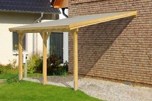 Diy timber supported lean to roof kit 6m wide 3m long for Table 3m long