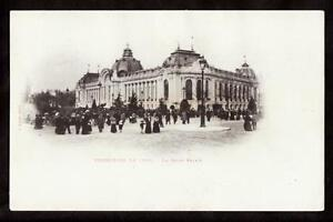 1900-people-in-front-of-le-petit-palais-exposition-Paris-France-postcard