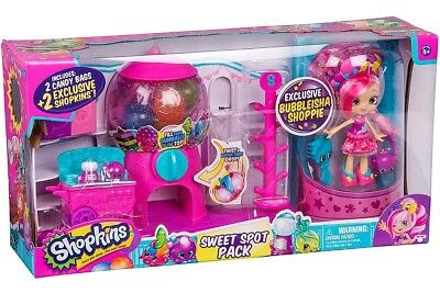 Shopkins Shoppies Sweet Spot Pack Exclusive Gumball Playset [Bubbleisha Shoppie]