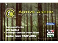 Tree surgery and garden services