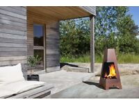 JOTUL TERRAZZA Outdoor Wood Stove, Patio Heater, BBQ - BRAND NEW