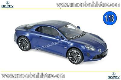 Alpine A110 Légende 2018 Abysse Blue NOREV - NO 185310 - Echelle 1/18 NEWS