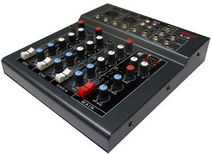 New-Professional-4-Channels-8-Input-DJ-PA-Mixer-48-P-P-Mic-CD-MP3-Computers