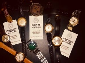 WATCHES WANTED SINGLE LOTS PARTS