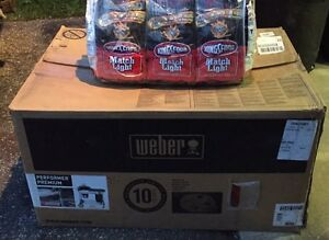 Brand New Weber BBQ and 6 Bags of Charcoal