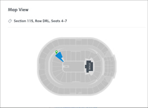 Paul McCartney-Rogers Place- Sun.-Sept 30- 4 tix- DRL- sect:115