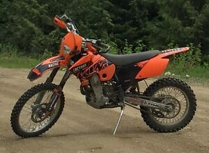 450 KTM EXC Very Low Hours