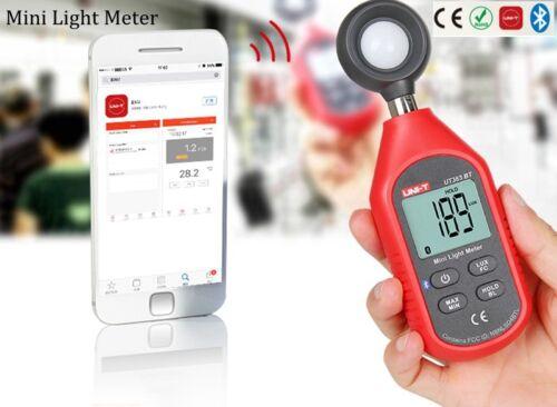 UNI-T UT383BT Digital  Bluetooth LuxmeterMini Light Meter Handheld Type Luxmeter